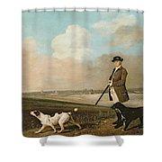Sir John Nelthorpe Shower Curtain by George Stubbs