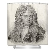 Sir John Vanbrugh, 1664 To 1726 Shower Curtain