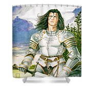 Sir Lancelot Shower Curtain