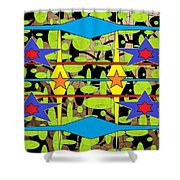 Sir Mbonu Christhe Arts Of Textile Designs #30 Shower Curtain