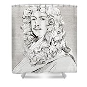 Sir Peter Lely, 1618 Shower Curtain