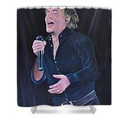 Sir Rod Stewart Shower Curtain