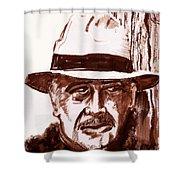 Sir Sean Connery Shower Curtain