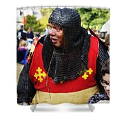 Sir Warwick Shower Curtain