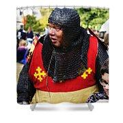 Sir Warwick Shower Curtain