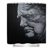 Sir Winstone Churchill Shower Curtain