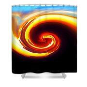Siren Shower Curtain