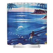 Sirena Shower Curtain