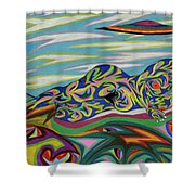 Sirene De Venus Shower Curtain