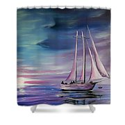Sirens Song Shower Curtain