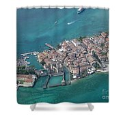 Sirmione's Castle Shower Curtain