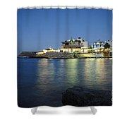 Sissi, Crete Shower Curtain
