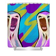 Sistaren  Shower Curtain