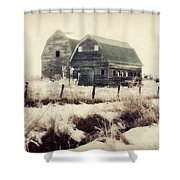 Sister Barns Shower Curtain