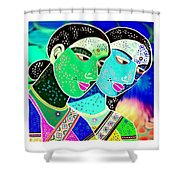 Sister Bonds-2 Shower Curtain