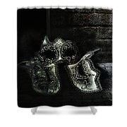Sister Masks Shower Curtain