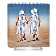Sister S Walk Shower Curtain