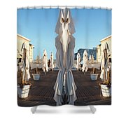Sisters, Let Us Pray Shower Curtain