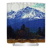 Sisters Oregon Ranch Shower Curtain