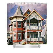 Sisters Panel Two Of Triptych Shower Curtain
