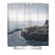 Sisters Rocks Lake Superior 2 Shower Curtain