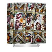 Sistine Chapel Shower Curtain