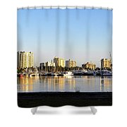Sit And Look Shower Curtain