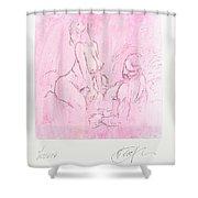 sit Shower Curtain