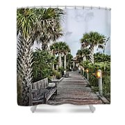 Sit N Relax Shower Curtain