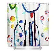 Sit, Stay, Good Dog Shower Curtain