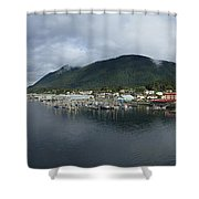Sitka Alaska From The John O'connell Bridge Is A Cable-stayed Bridge 2015 Shower Curtain