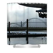 Sittin On The Dock Of The Bay 2300 Shower Curtain