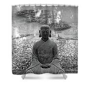 Flowing Mind Shower Curtain