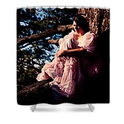 Sitting In A Tree Shower Curtain