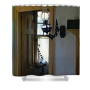 Sitting Room Doorway Shower Curtain
