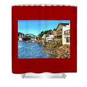 Gorgeous Siuslaw Riverfront Shower Curtain