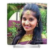 Siva's One And Only Baby Nisha Shower Curtain
