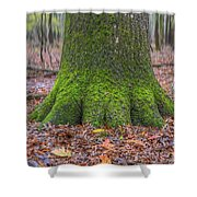 Six Green Fingers Shower Curtain