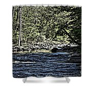 Six Mile Creek Ithaca Ny Shower Curtain