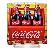 Six Pack Of Cokes Shower Curtain