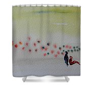 Six Seasons Dance Four Shower Curtain