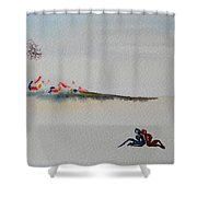 Six Seasons Dance One Shower Curtain