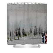 Six Seasons Dance Three Shower Curtain