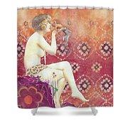 Size Matters Da Shower Curtain