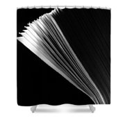 Size Ten Envelopes Shower Curtain