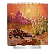 Sizzling Heat Shower Curtain