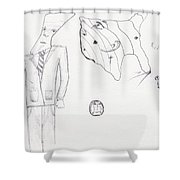 Sjb-33 Shower Curtain