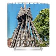 Sjosas Old Church Shower Curtain