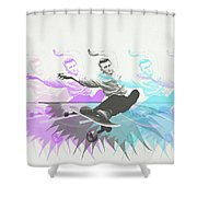 Sk8 Jd Shower Curtain