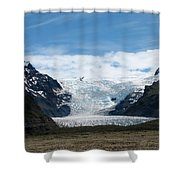 Skaftafell  Shower Curtain